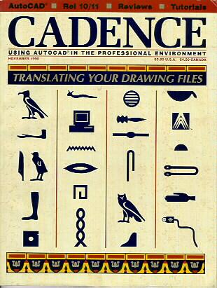 Cover of the Issue of CADENCE Magazine in which this article was published
