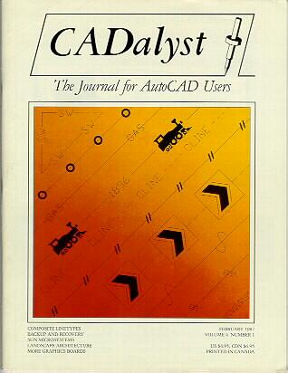 Cover of the Issue of CADAlyst Magazine in which this article was published