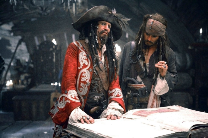The Pirate's Codex, from the Pirates of the Caribbean movie